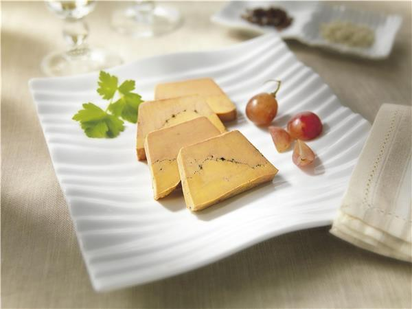 Whole Duck Foie Gras from the South-West with Black Sarawak Pepper Half-Cooked 200g