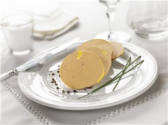 How to slice the foie gras?