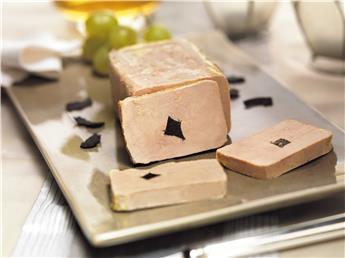 Whole Goose Foie Gras Périgord Origin truffled (5% Black Truffles)