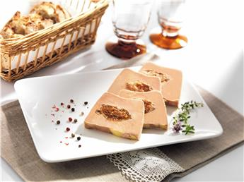 Speciality of Duck Foie Gras with Figs - 20% Figs -Half-Cooked