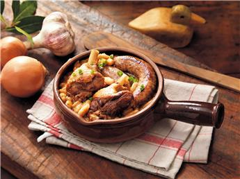 Cassoulet with Duck Wings