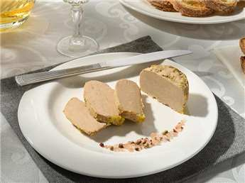 Whole Duck Foie Gras from the Périgord cooked with Jurançon